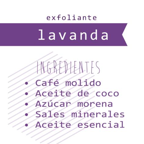 Exfoliante Café + Lavanda