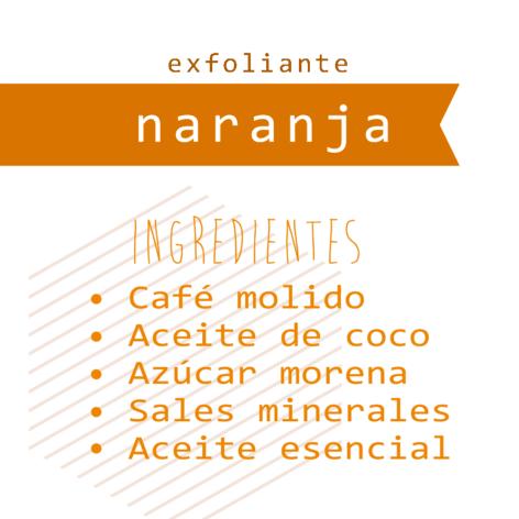 Exfoliante Café + Naranja