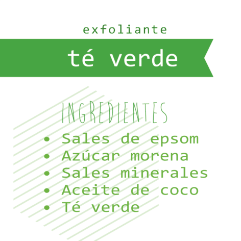 Exfoliante Té verde