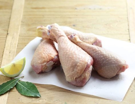 Piernas de pollo orgánico, jugosísimas !