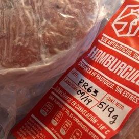 Hamburguesas de pollo orgánico, listas para asar !