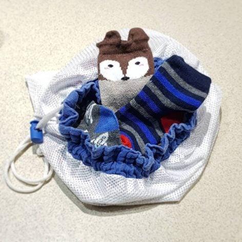Bolsa de Malla 5 pack algodón y poliéster