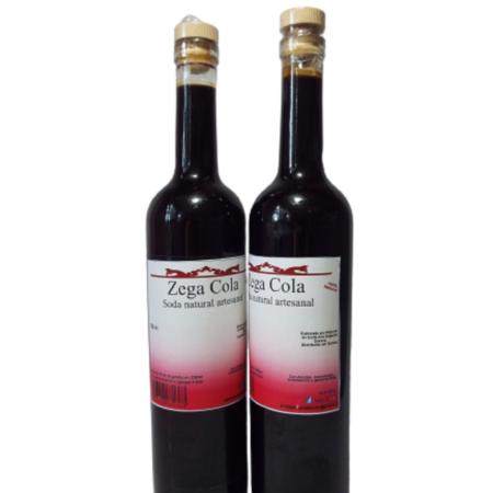 Soda Natural Zegacola 250ml