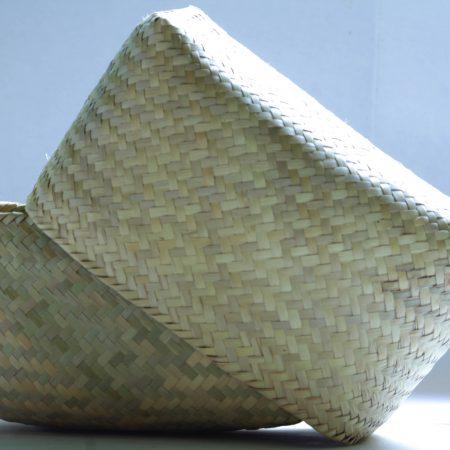 Tortillera de palma tejido fino