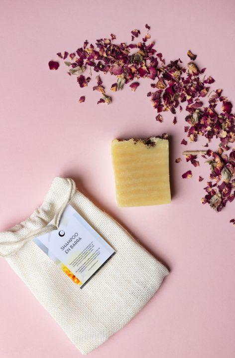 Shampoo Sólido de Leche de Almendra y Jazmín