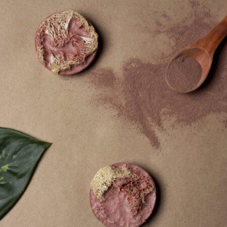 Jabón Exfoliante de Arcilla Roja (3 pzas)