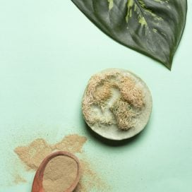 Jabón Exfoliante de Arcilla Verde