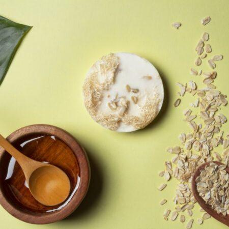 Jabón Exfoliante de Avena y Miel (3 pzas)
