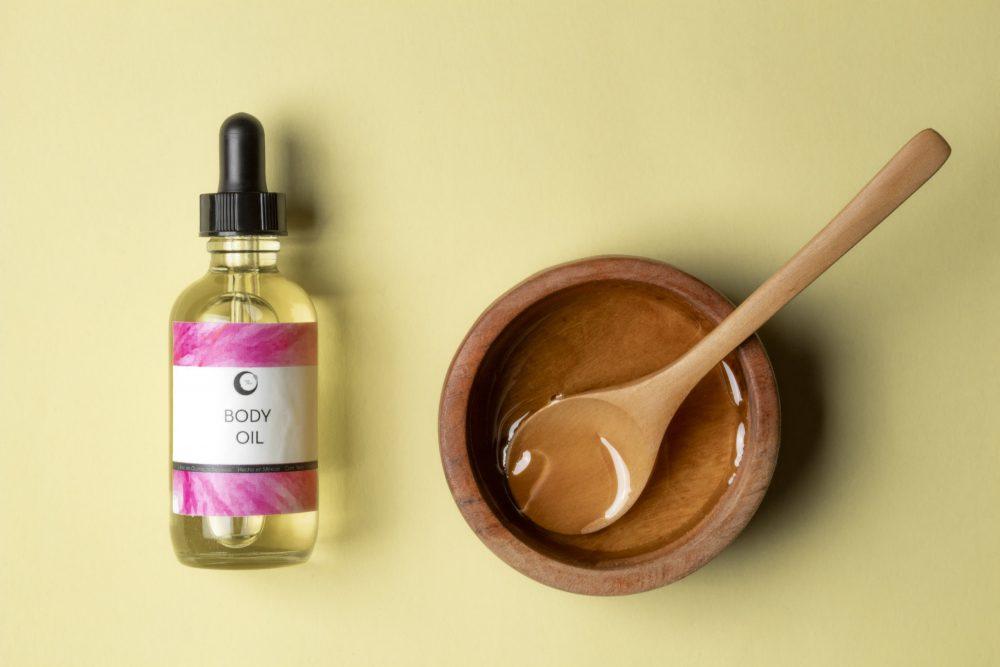 body oil miel