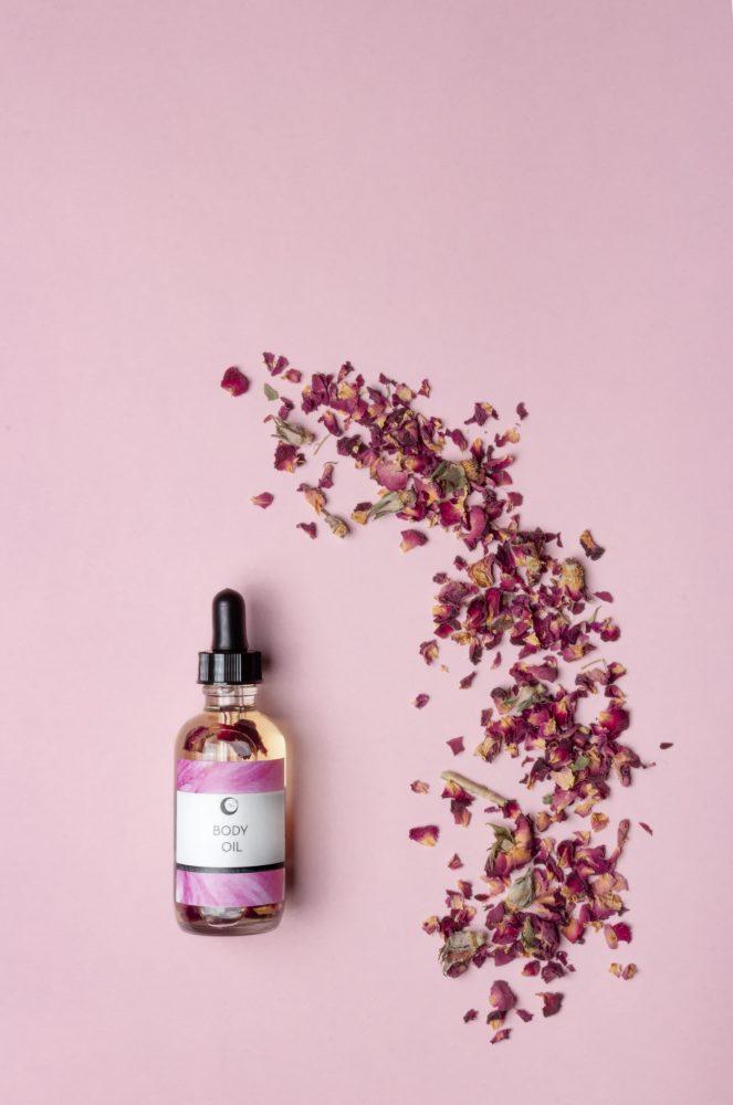 body oil rosa