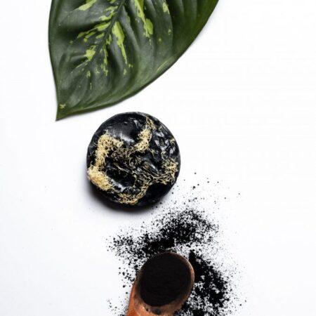 Jabón Exfoliante de Carbón Activado (3 pzas)