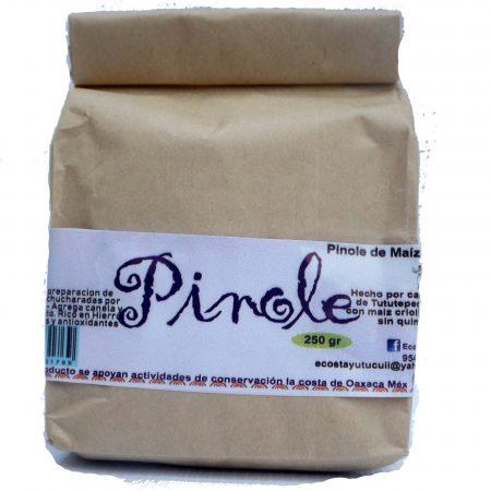 Pinole de maiz 250g
