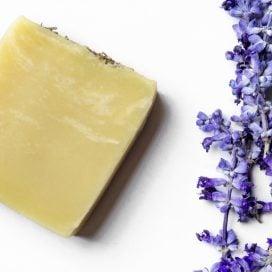 Shampoo Sólido de Té de Manzanilla y Lavanda