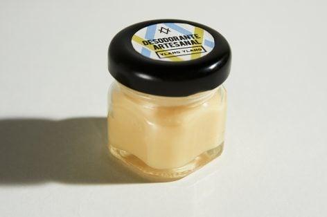 Desodorante artesanal en envase de vidrio 35gr (Ylang-Ylang)