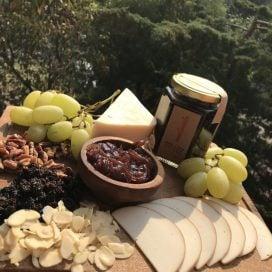 Compota de cebollas al vino tinto