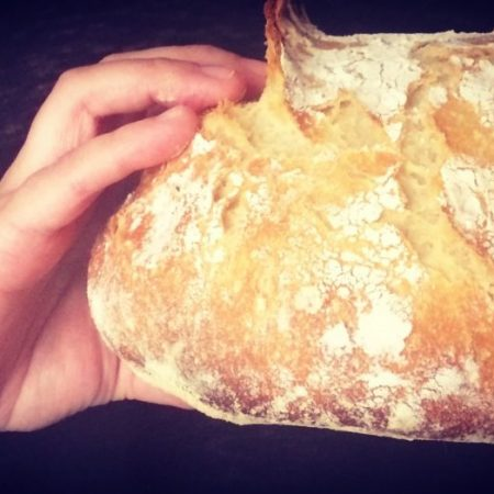 Pan de campo (masa madre)