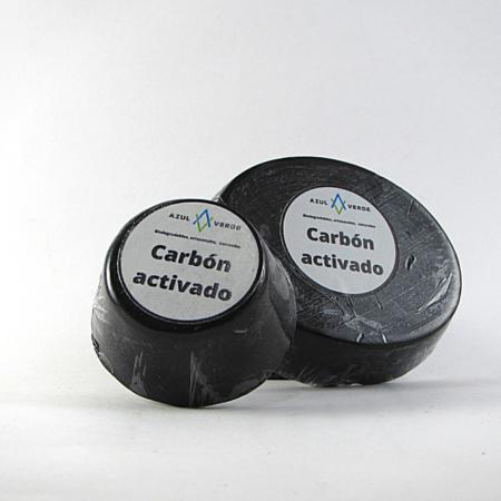 Jabón facial exfoliante de carbón activado