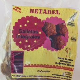 Galletas integrales de betabel 120g