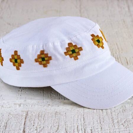 Gorras con bordado Ch'ol tradicional