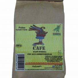 Café en polvo tostado fuerte 250g