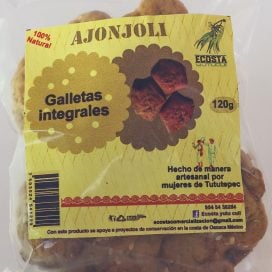 Galleta integral de Ajonjoli 120g