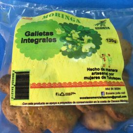 Galletas integrales de moringa 120g