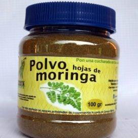 Polvo de hojas de moringa 100g