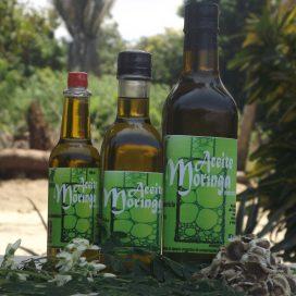 Aceite comestible de moringa