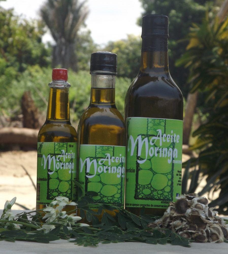 Aceite comestible de moringa (250ml)