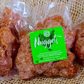 Nuggets de pollo orgánico
