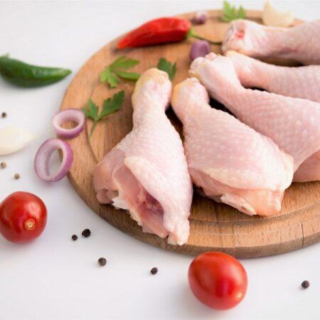 Pierna de pollo orgánico