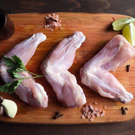 Alitas de pollo orgánico. Naturales/adobadas