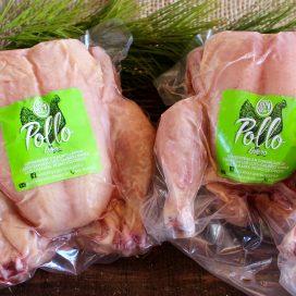 Pollo orgánico. Medio / Entero (+2kg)