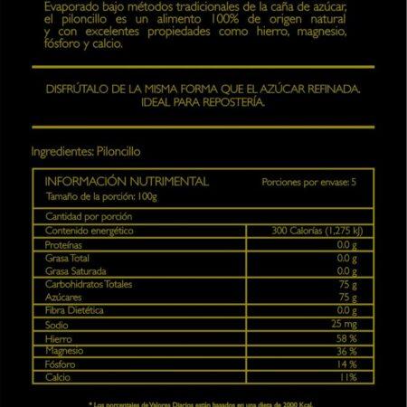 Piloncillo Granulado 500g