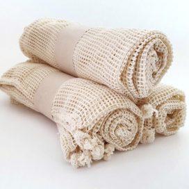 Bolsas de tela 100% algodón para frutas y verduras