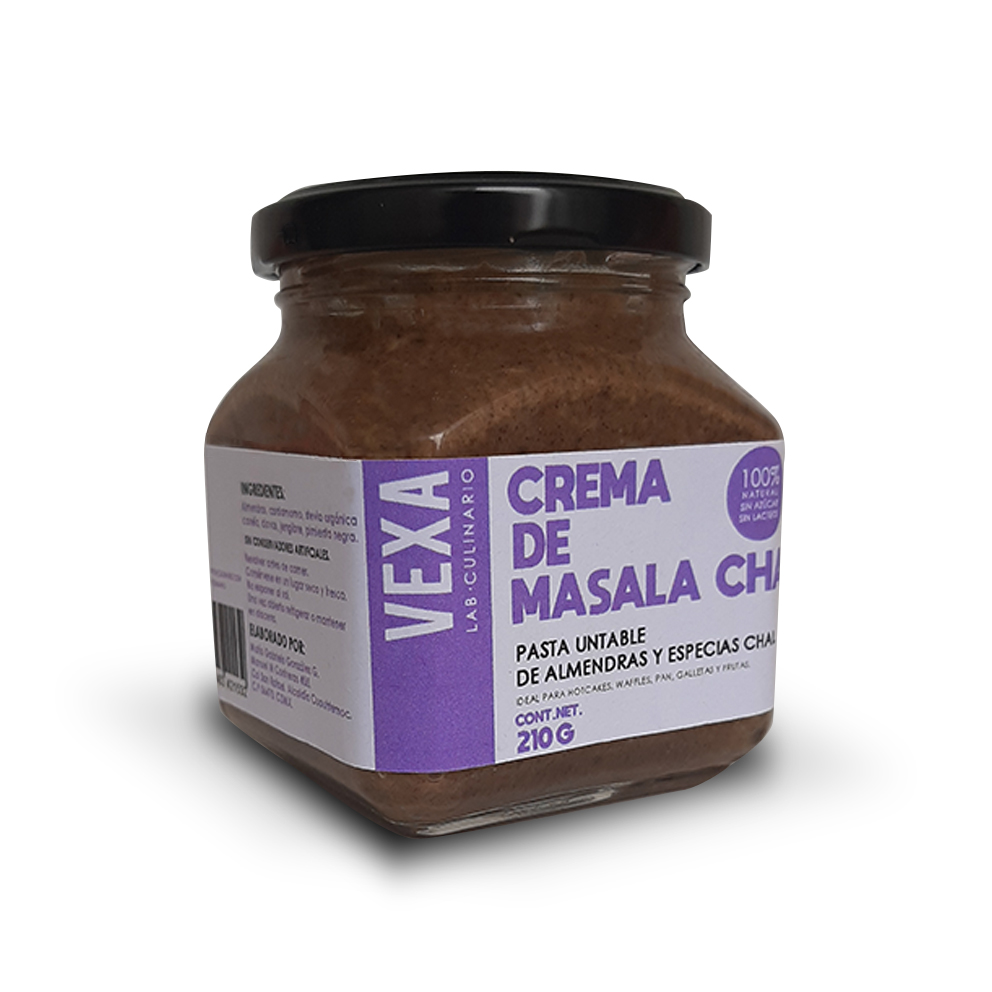 Crema De Almendras Masala Chai
