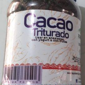 Cacao horneado y triturado 200g
