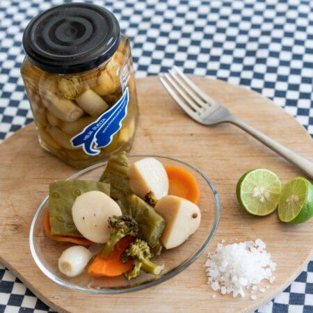 Mix de verduras en conserva