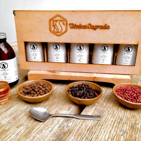 #Kit de cinco sabores de Tónica Sagrada, 8 oz