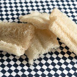 Esponja vegetal de luffa multiusos/ trastes