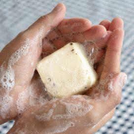 Shampoo sólido a base vegetal con Manzanilla 65gr