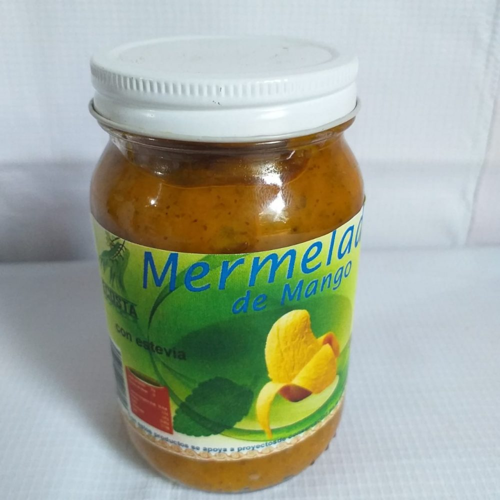 Mermelada sin Azucar sabor mango