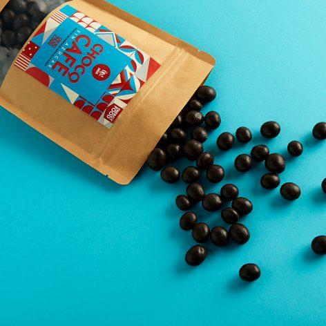 Granos de Café con Chocolate sin Azúcar