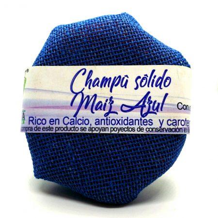 Champú solido – Maíz Azul 120gr