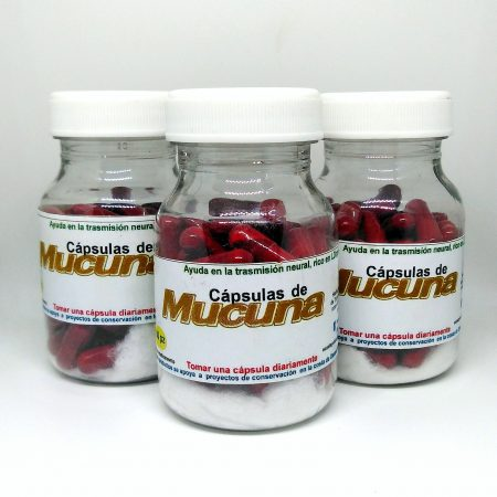 Cápsulas de mucuna 60 pz