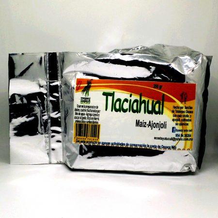Tlaciahual – Atole en polvo (maíz-ajonjolí) 250 gr