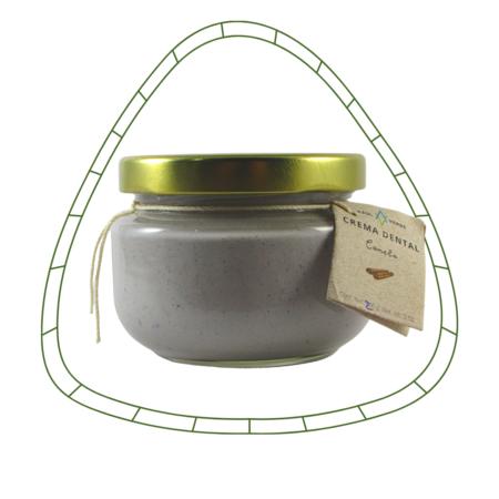 Crema dental artesanal libre de flúor 175gr