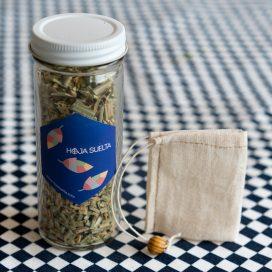 Té de limón con bolsita de té de tela ~tarro chico