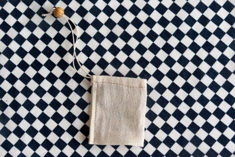 Bolsitas para té de tela reutilizable Hoja Suelta (pack de 5)