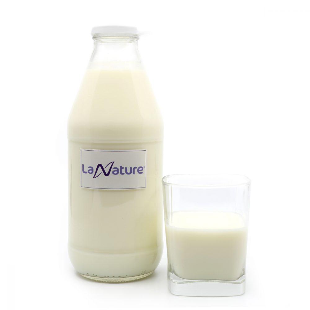 Leche fresca entera de vaca, 1L